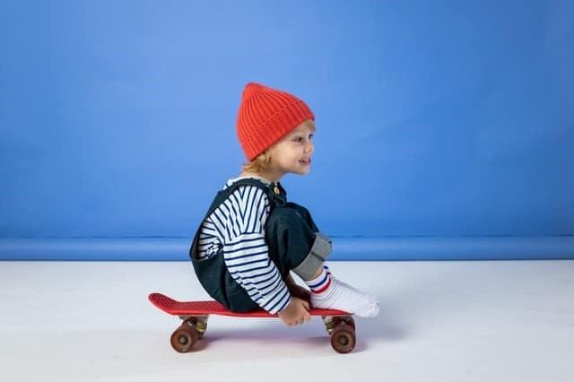 little boy skateboard