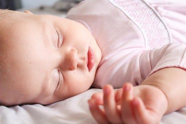 pink pajamas baby