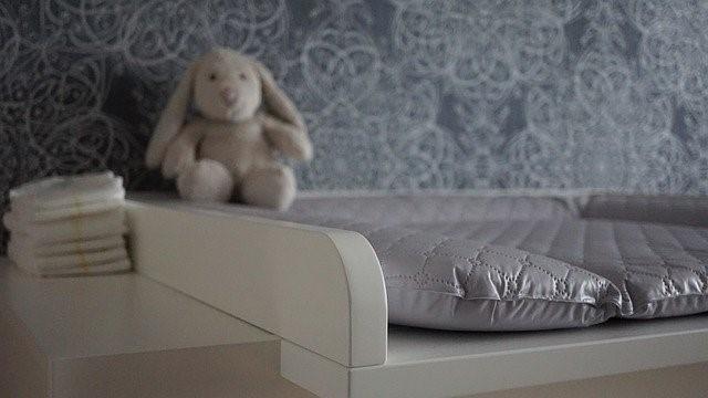 diaper change table