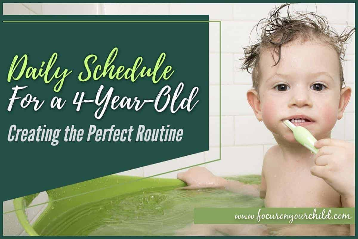 Daily Schedule for a 4-Year-Old Creating the Perfect Routine