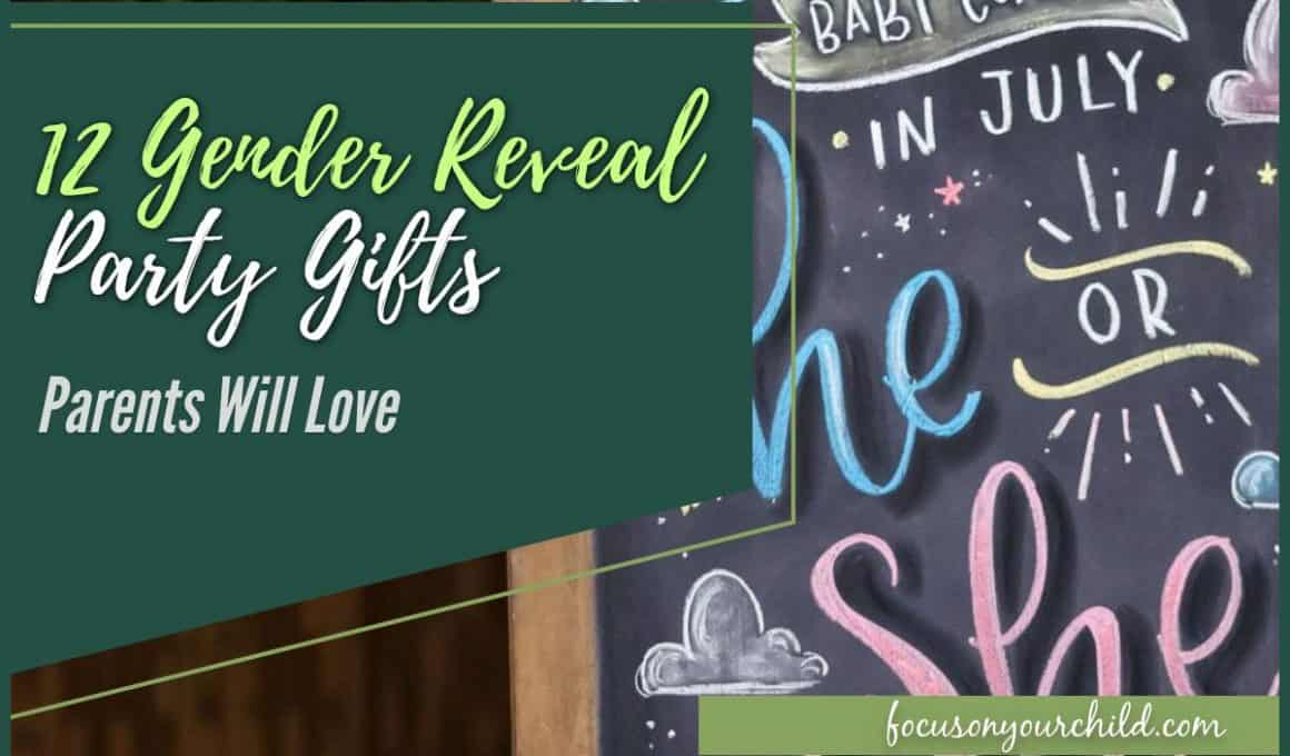 12 Gender Reveal Party Gifts Parents Will Love