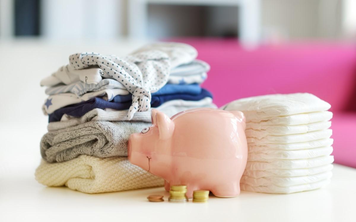 diapers piggy bank