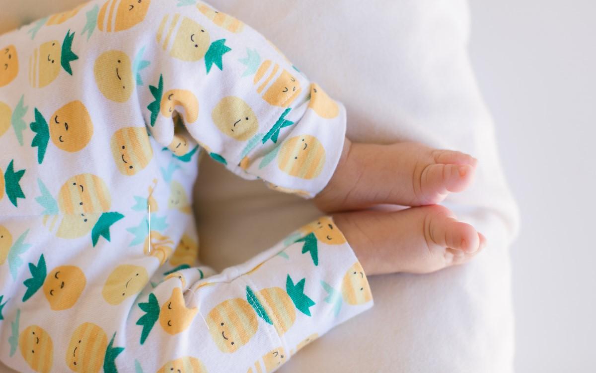printed baby pants