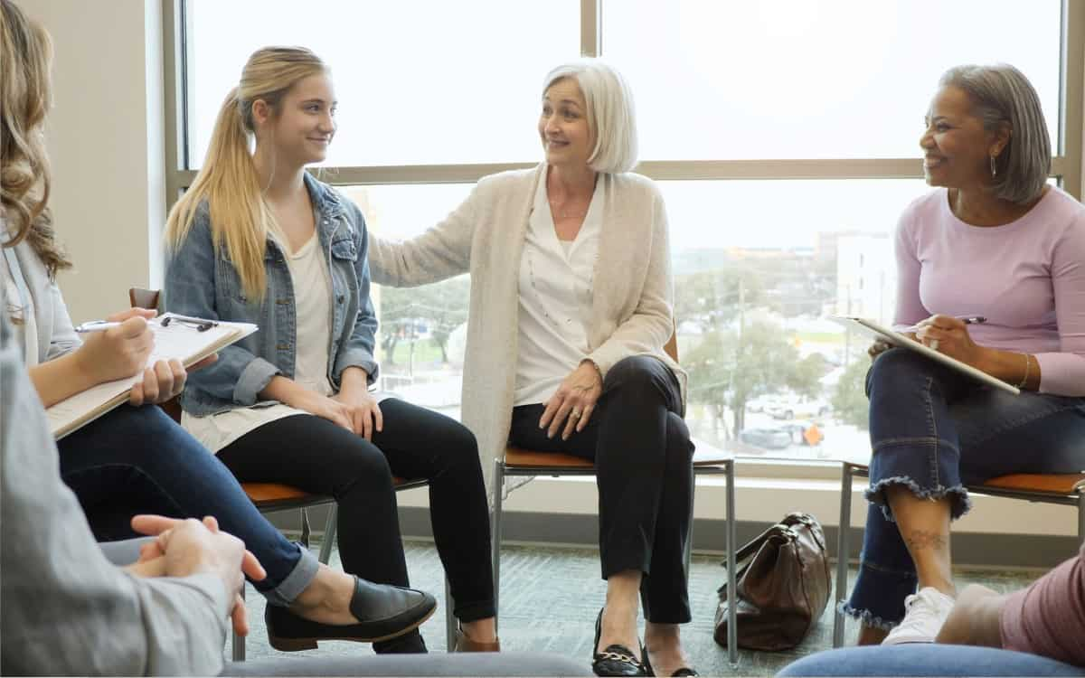 group counseling teen