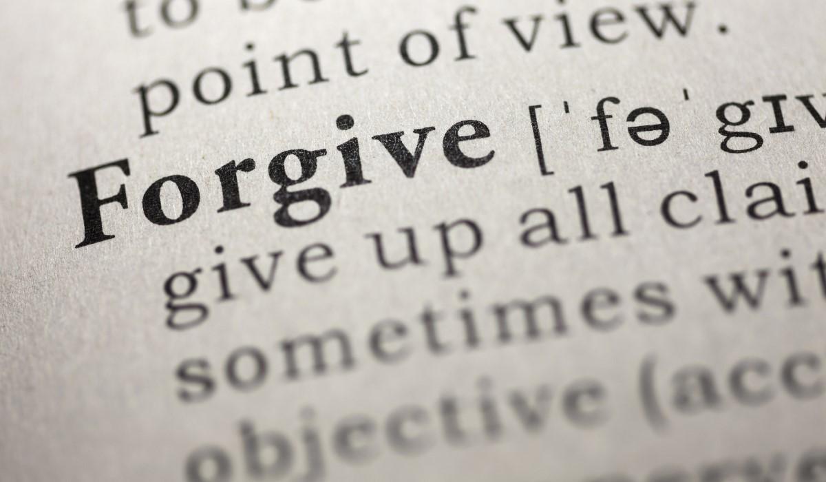 forgive word