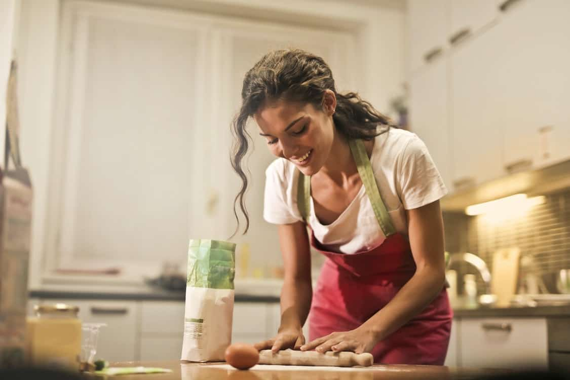 making homemade food