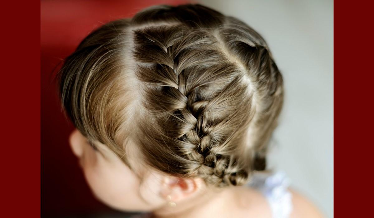 braided hair girl