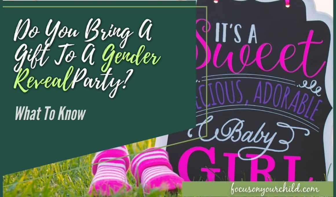Do You Bring A Gift To A Gender Reveal Party What To Know