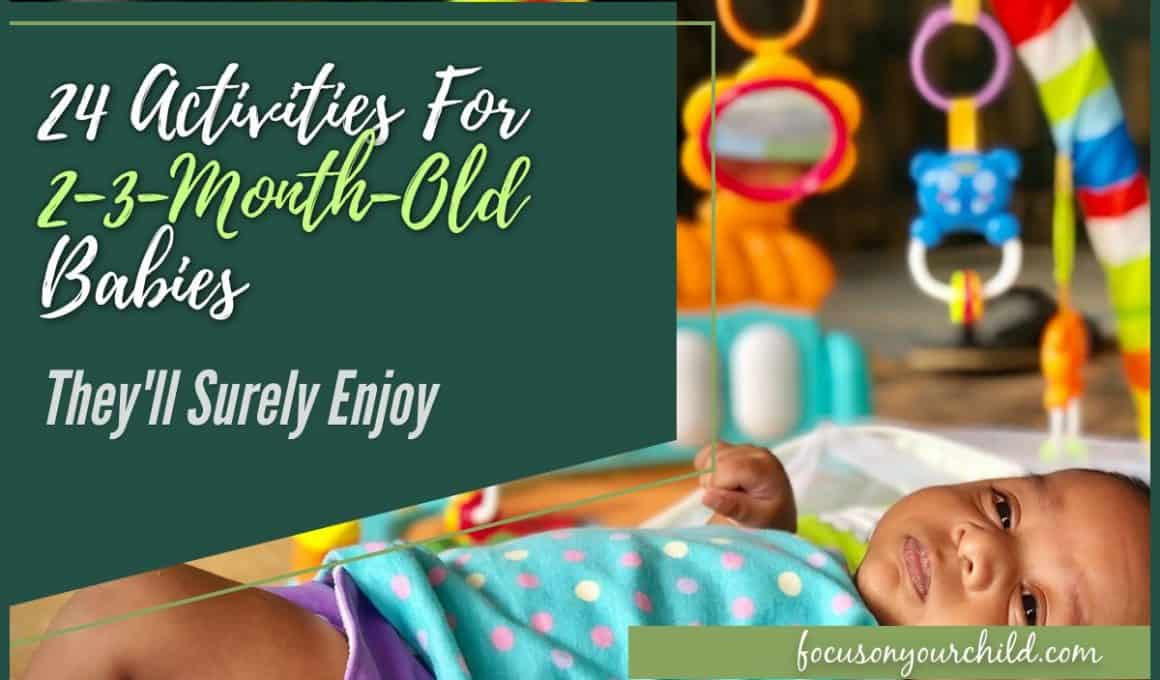24 Activities For 2-3-Month-Old Babies They'll Surely Enjoy